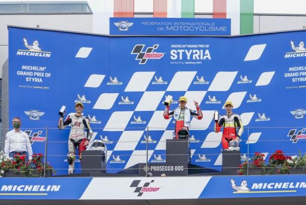 Kocourek podium